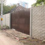Ворота с калиткой во Владимире